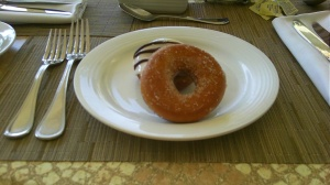 Dream DONUTS!  They were SO GOOD along with the Mexican Coffee...A YUM!