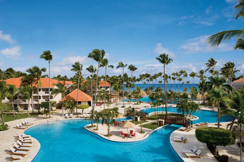 Dreams Palm Beach Their Main Pool Is Awesome