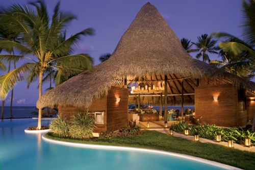 At Night Zoetry Agua Punta Cana is Magical